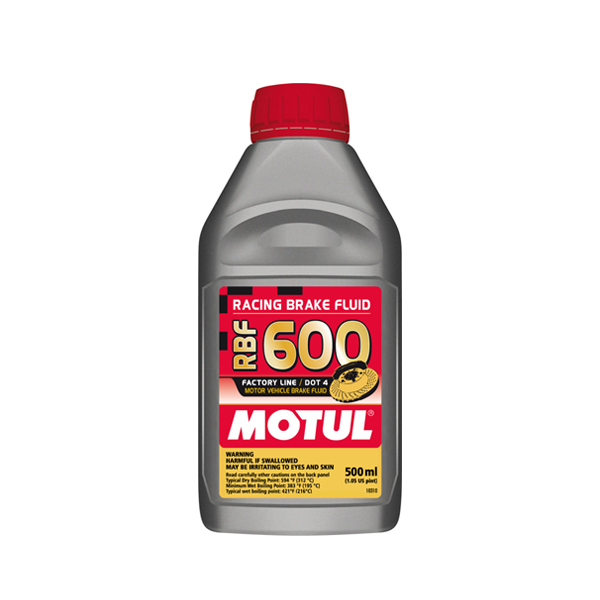 Motul RBF 600 1/2L Brake Fluid DOT 4