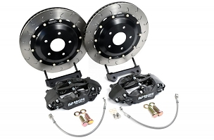 AP Racing by Essex Radi-CAL Competition Brake Kit (Rear CP9451/340mm) - Porsche 987, 981, 718 Boxster & Cayman