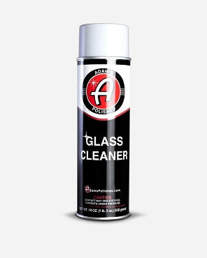 Adam's Aerosol Glass Cleaner - 19 OZ